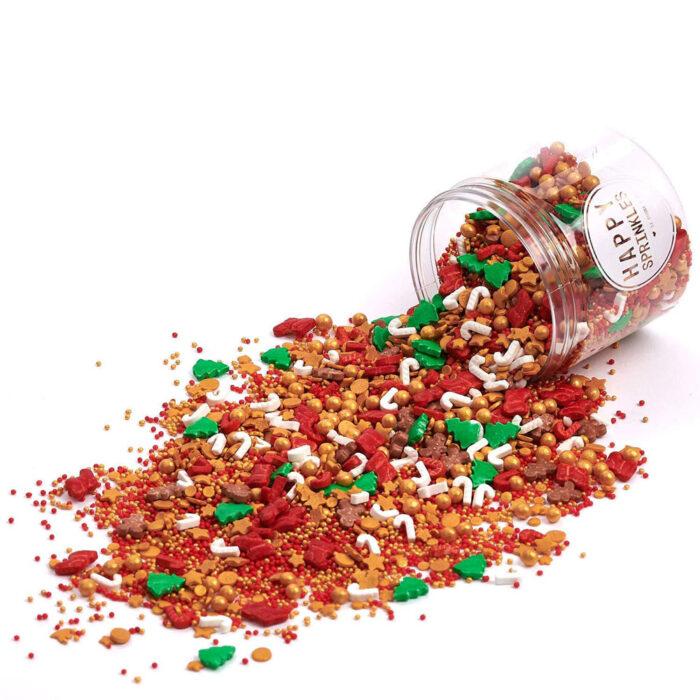 happy sprinkles christmas sprinkles santas favorite