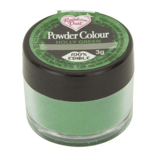 rainbow dust holly green